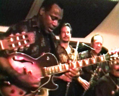 Gabriel with George Benson In concert on Maui HI
